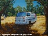 Oldtimer bus, Greek bus, Oldtimer-art.nl