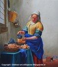"""Het """"Melk""""meisje, Oldtimer-art.nl"""
